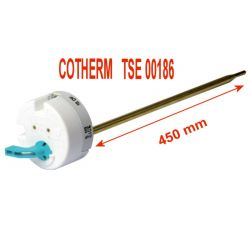 Thermostat de chauffe eau TSE00186 450 mm Cotherm THERMOR DE DIETRICH PACIFIC