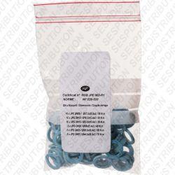 joint Gaz bleu agrée GDF NF E29-533 sachet de 50 joints varié