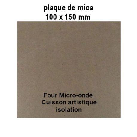 Mica à découper pour micro onde différente taille disponible 100 x 150 mm
