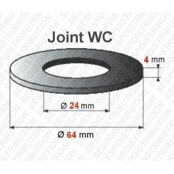 joint WC 64 x 24 x 4 mm joint de mécanisme WC compatible Mira Schwab