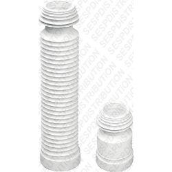 manchette pipe de WC flexible et souple extensible 570 mm