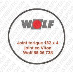 Wolf 8905738 joint torique 132 x 4 Viton COB et TOB