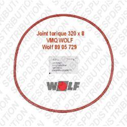 Wolf 8905729 joint torique 320 x 8 VMQ COB et TOB