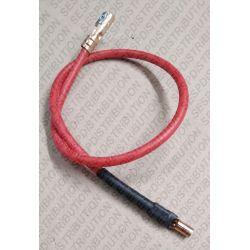 câble haute tension cosse F 6,3 F 4 Ø alimentation électrode