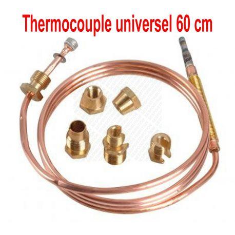 Thermocouple 60 cm 30 MV