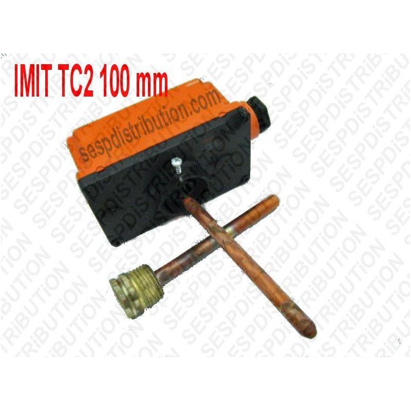 thermostat imit tc2 100mm 542470 lsc1 aquastat boitier r glable plonge de 100 mm. Black Bedroom Furniture Sets. Home Design Ideas