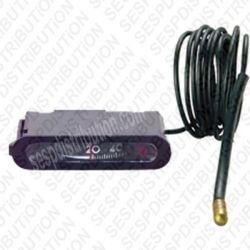 Thermomètre de chaudière IMIT 20° à 120°C modèle à lecture horizontal