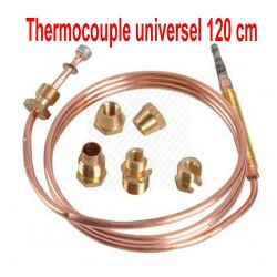 Thermocouple 120 cm 30 MV