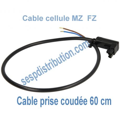 Câble de cellule MZ FZ modèle coudé 600 mm