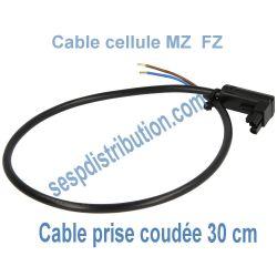Câble de cellule MZ FZ modèle coudé 300 mm