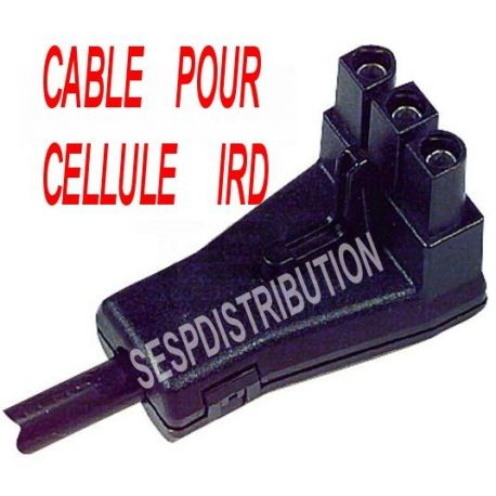 Câble pour cellule IRD SATRONIC TF