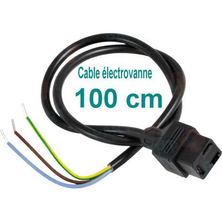 Câble d'allumage bobine électrovanne de pompe brûleur 100cm