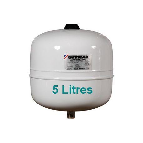Vase sanitaire GITRAL 5 Litres