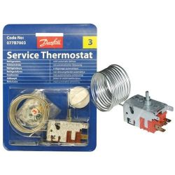 thermostat DANFOSS 3 077B7003 thermostat réfrigérateur combiné 2 portes