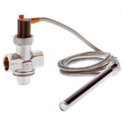 soupape sécurité thermique chaudière à bois CALEFFI Type 543