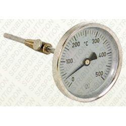 Thermomètre de fumée de 0 à 500°