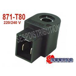 SUNTEC électrovanne 371381 SAV bobine 871-T80