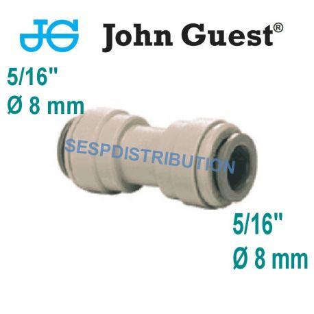 """raccord union égal 5/16"""" 8 mm PM0408S John Guest"""