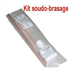 Kit soudo-brasure 4 baguettes laiton