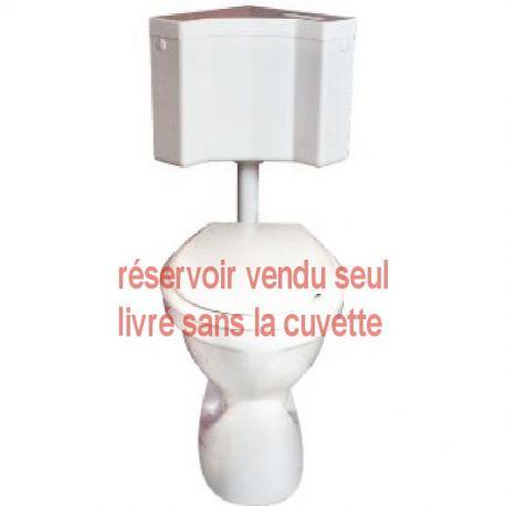 Réservoir d'angle pour WC REGIPLAST ANGLE 400
