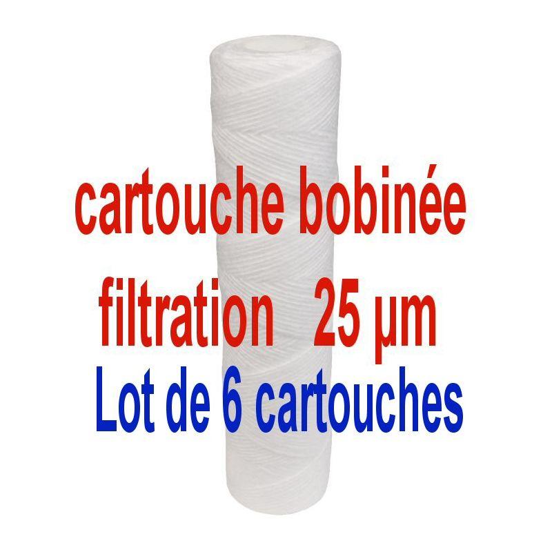 cartouche anti boue 25 micron lg 9 3 4 25 cm cartouche bobin e 25 m sespdistribution. Black Bedroom Furniture Sets. Home Design Ideas