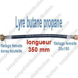 lyre souple alimentation flexible gaz F F 20x150 écrou bouteille
