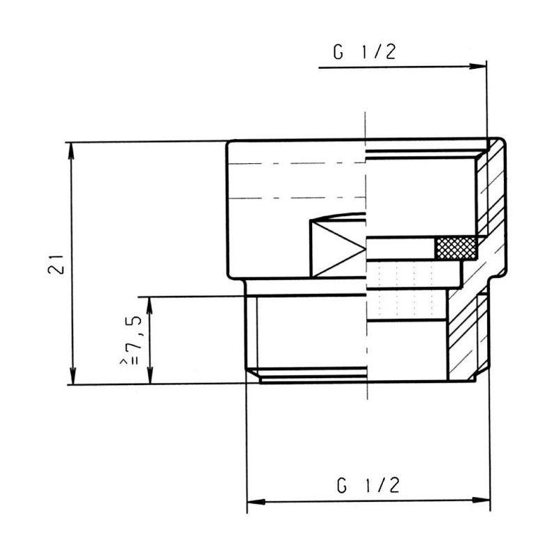 conomiseur d 39 eau 9 l mn neoperl pcr pour douche. Black Bedroom Furniture Sets. Home Design Ideas