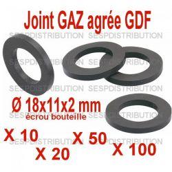 joint GAZ détendeur butane propane 18x11x2xmm
