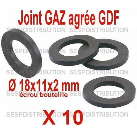 joint gaz d tendeur butane propane 18x11x2xmm sespdistribution. Black Bedroom Furniture Sets. Home Design Ideas