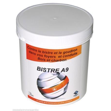 BISTRE A9 debistreur chimique des conduits devchaudière et de chauffage