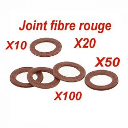 Joint plomberie sanitaire fibre rouge