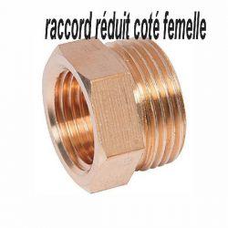 raccord laiton réduit coté femelle raccord réduit plomberie chauffage
