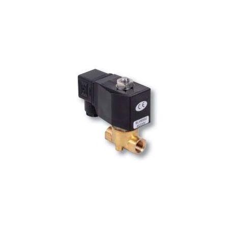 ELV électrovanne bronze NF avec connecteur